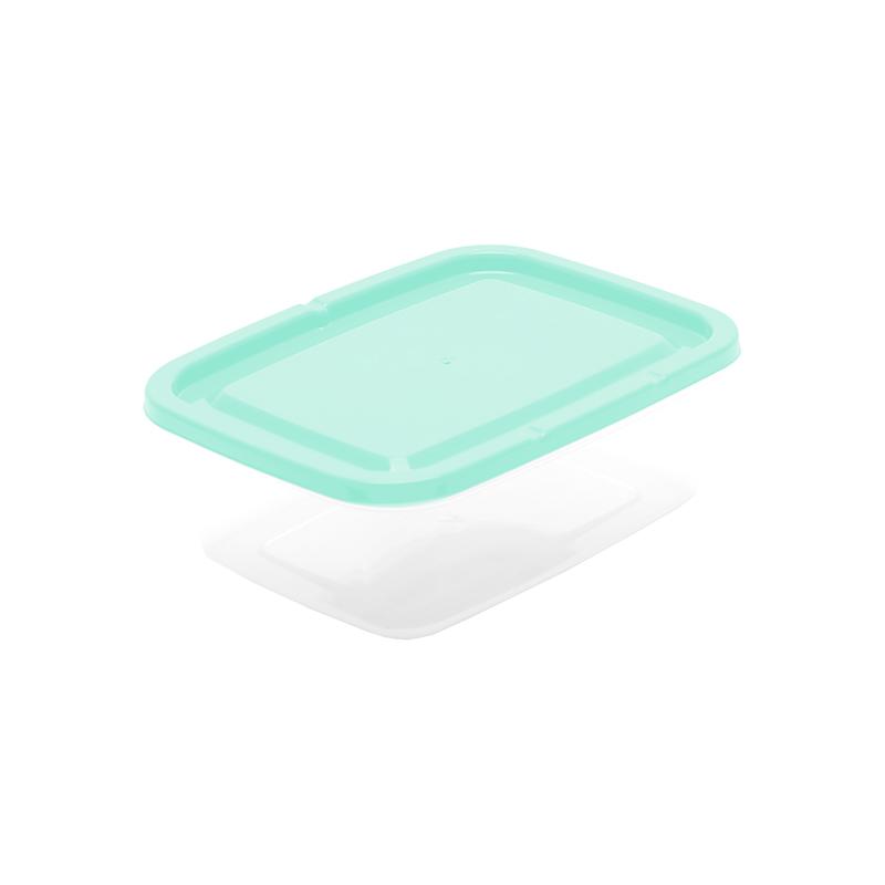 Pote Retangular 0.8 L - Verde