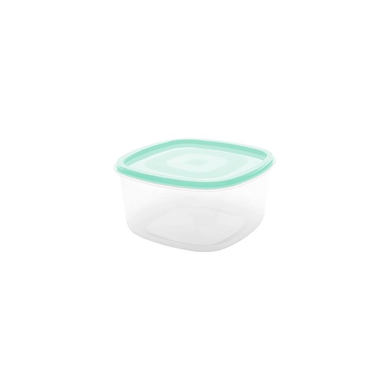 Pote Quadrado Liso 0.25 L - Verde