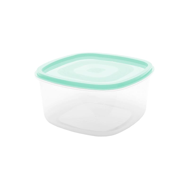 Pote Quadrado Liso 1.2 L - Verde