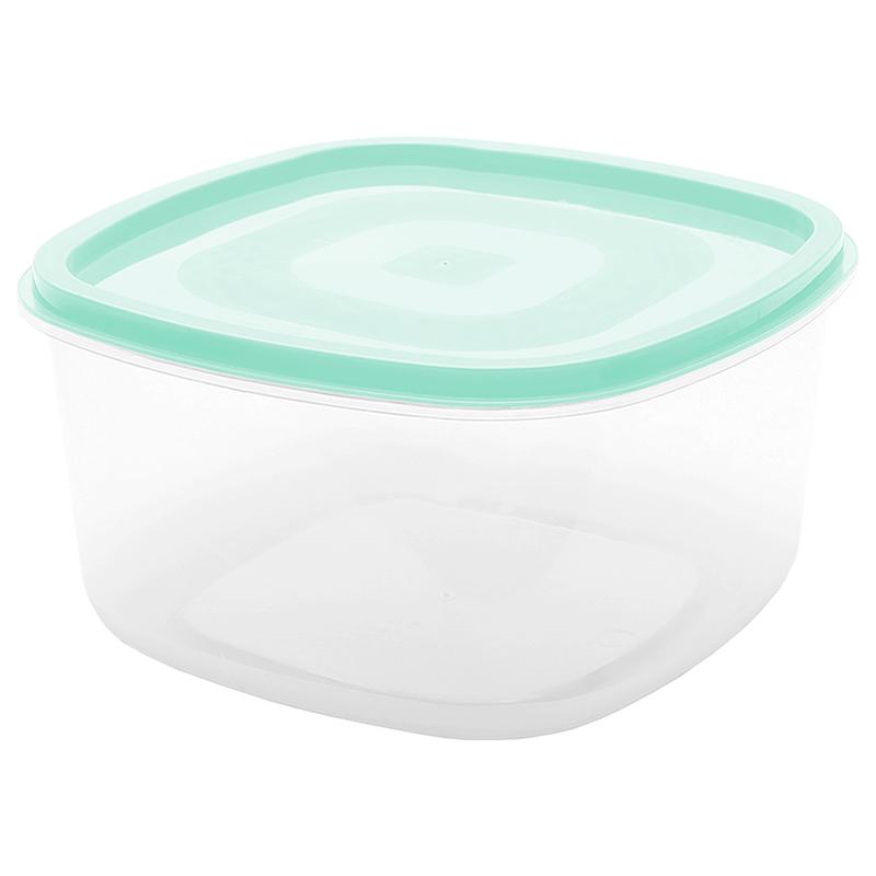 Pote Quadrado  5.7 L - Verde
