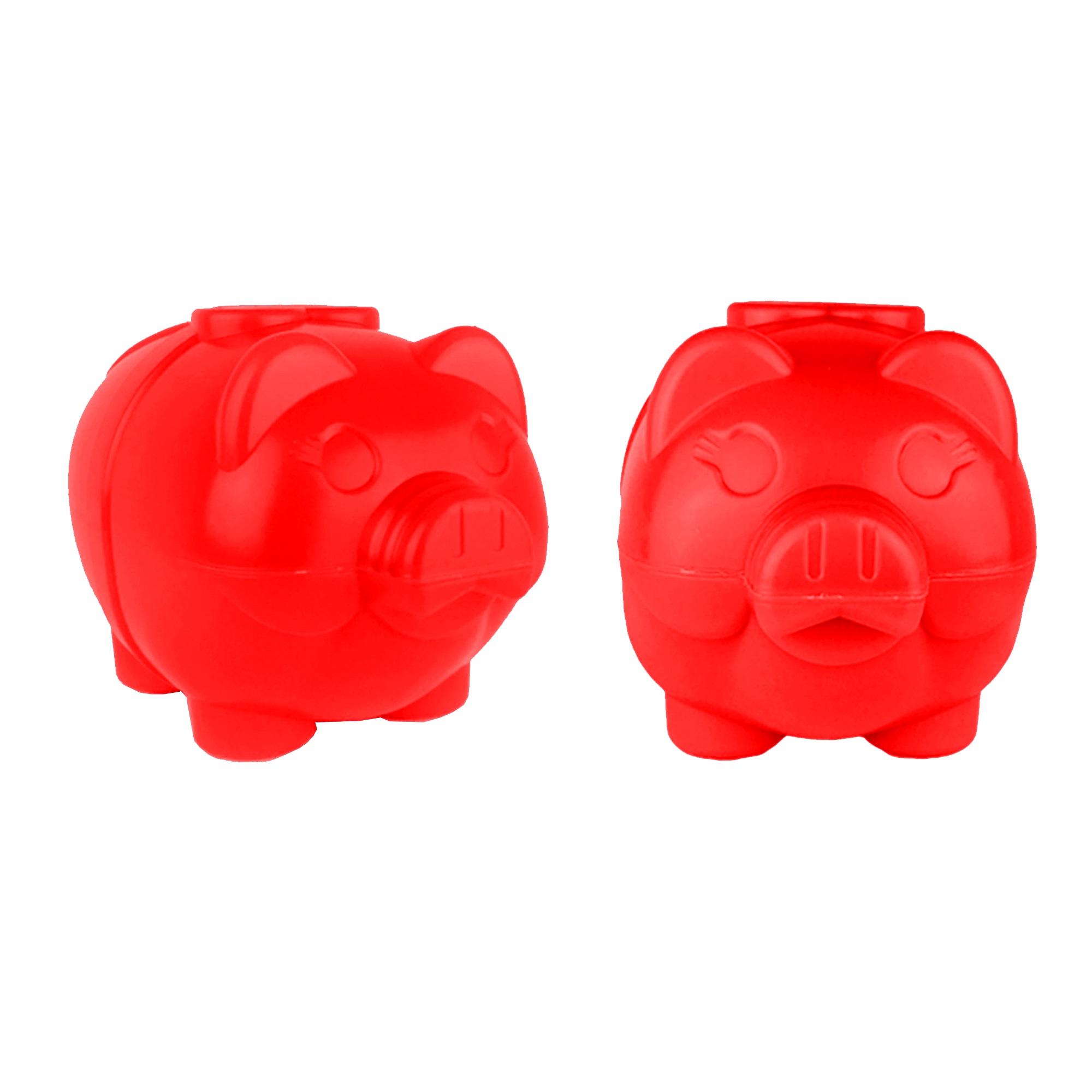 Cofre Porquinho - Vermelho