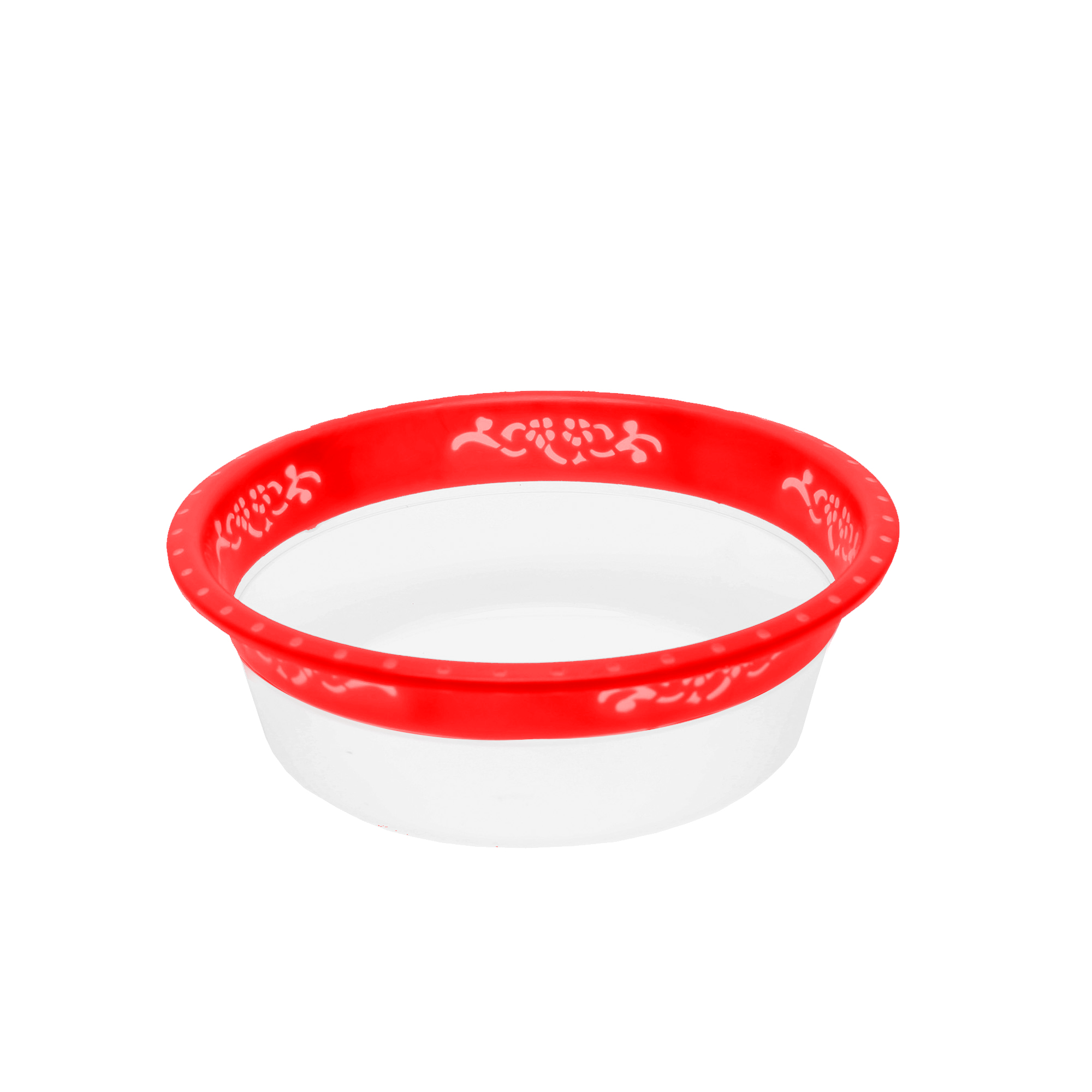 Bacia Color 2.500 L - Vermelho