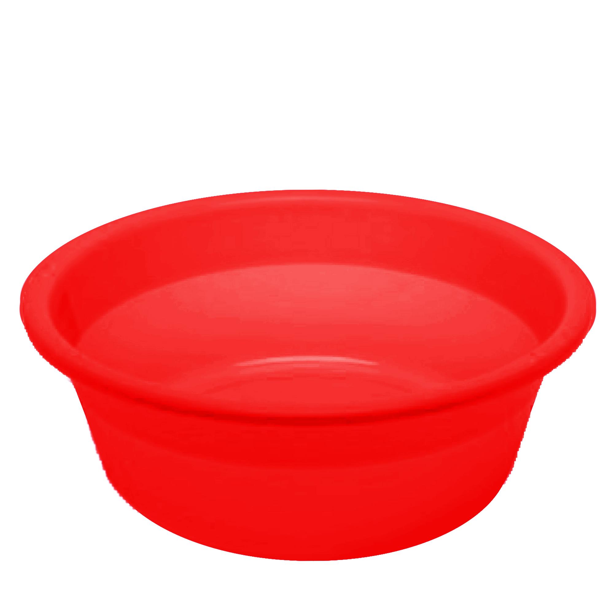 Bacia Color 14 L - Vermelho