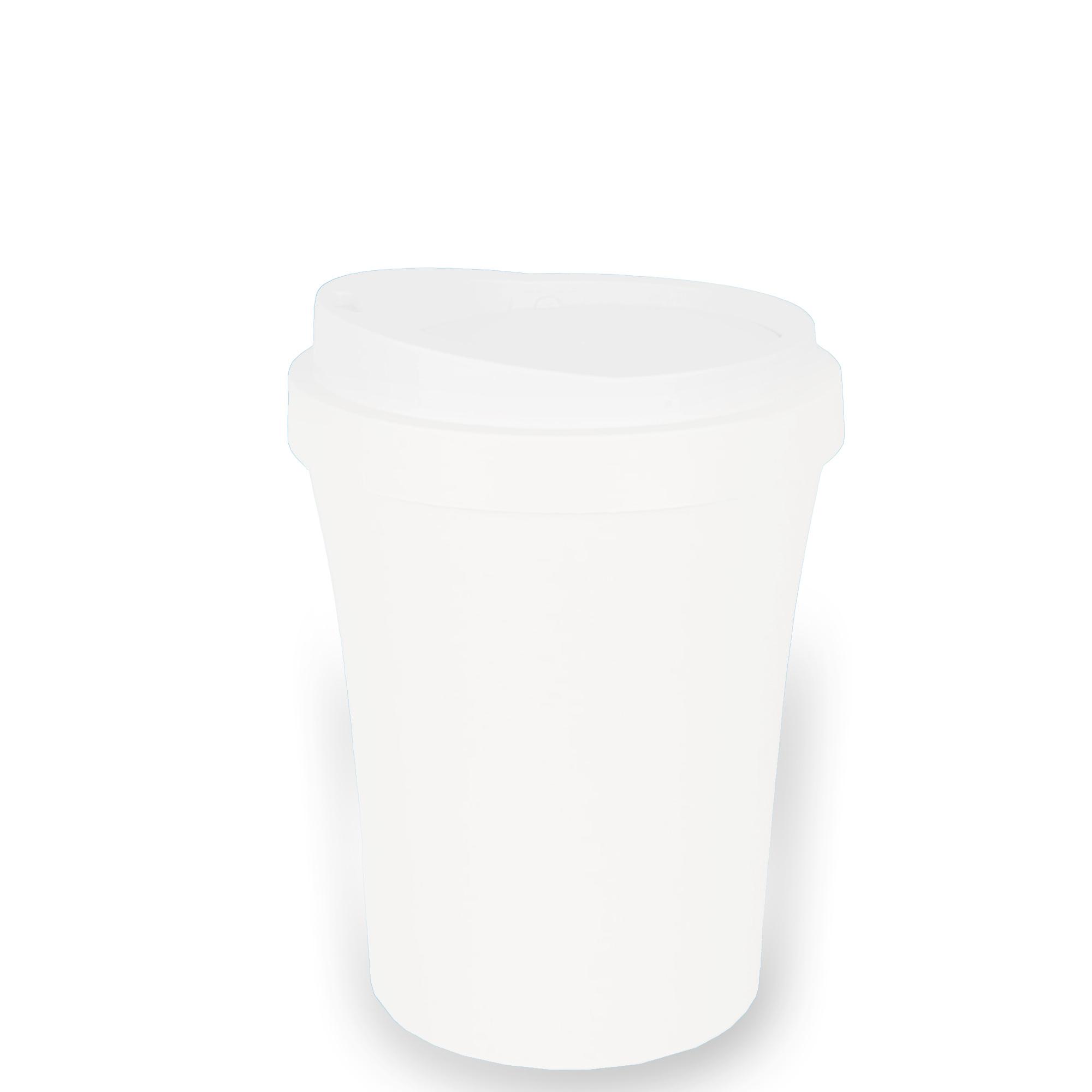 Lixeira Redonda Basculante 2.3 L - Branco