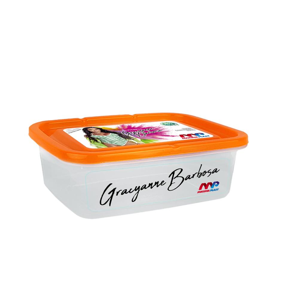 Food Container Gra 800 Ml - Orange