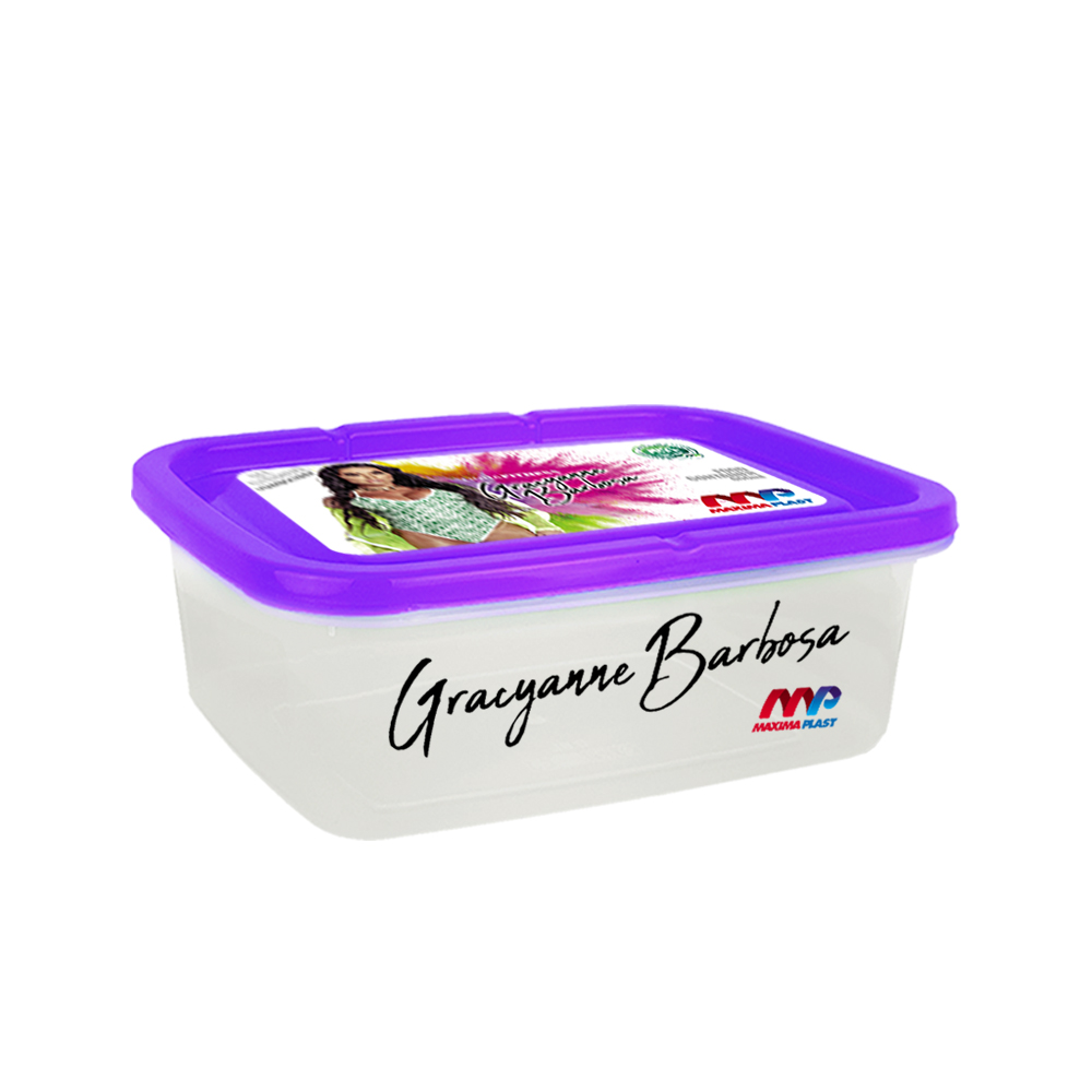 Food Container Gra 800 Ml - Purple