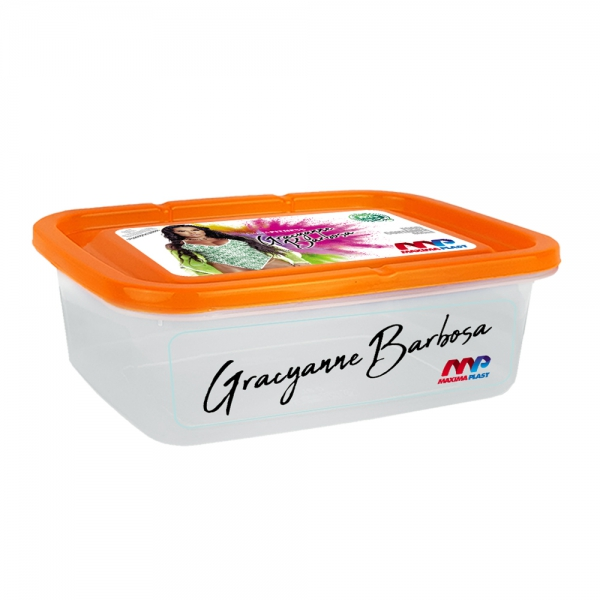 FOOD CONTAINER GRA 1.5L - ORANGE