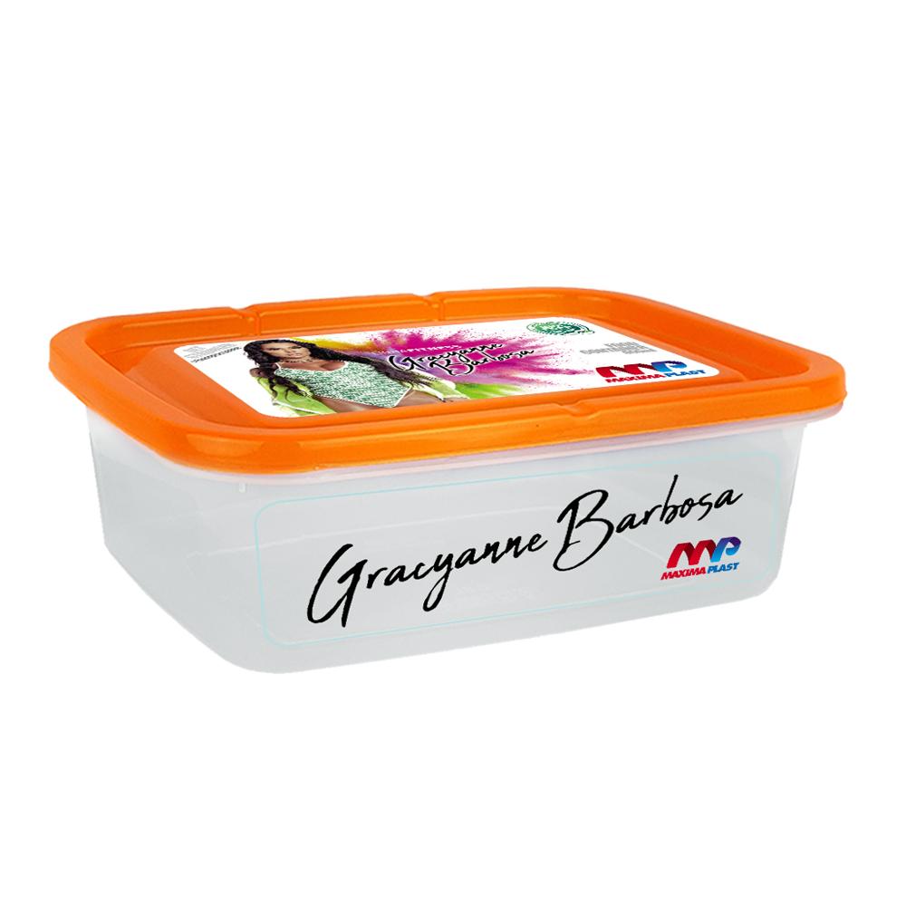 Food Container Gra 1.5l - Orange