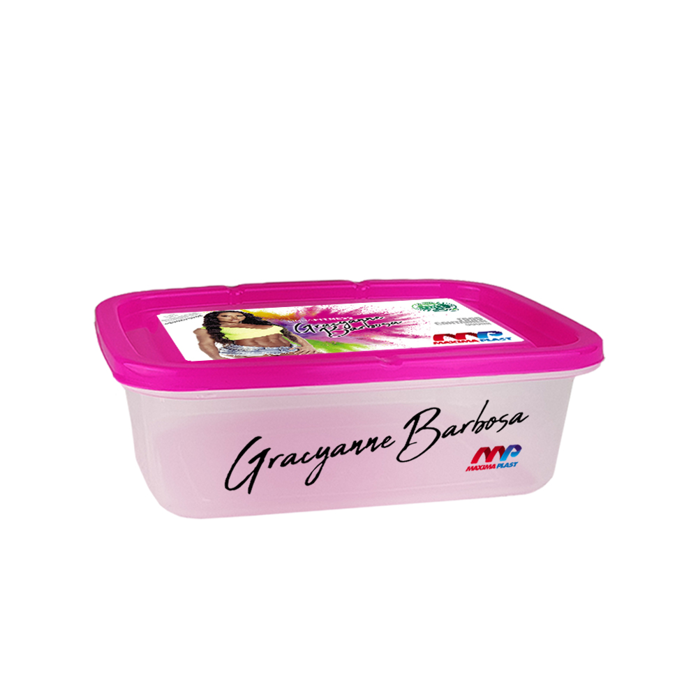 Food Container Gra 1.5l - Pink