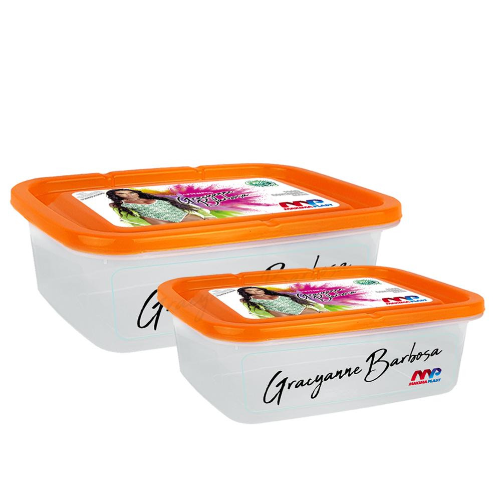 Kit Marmitas Max153+max154 - Orange