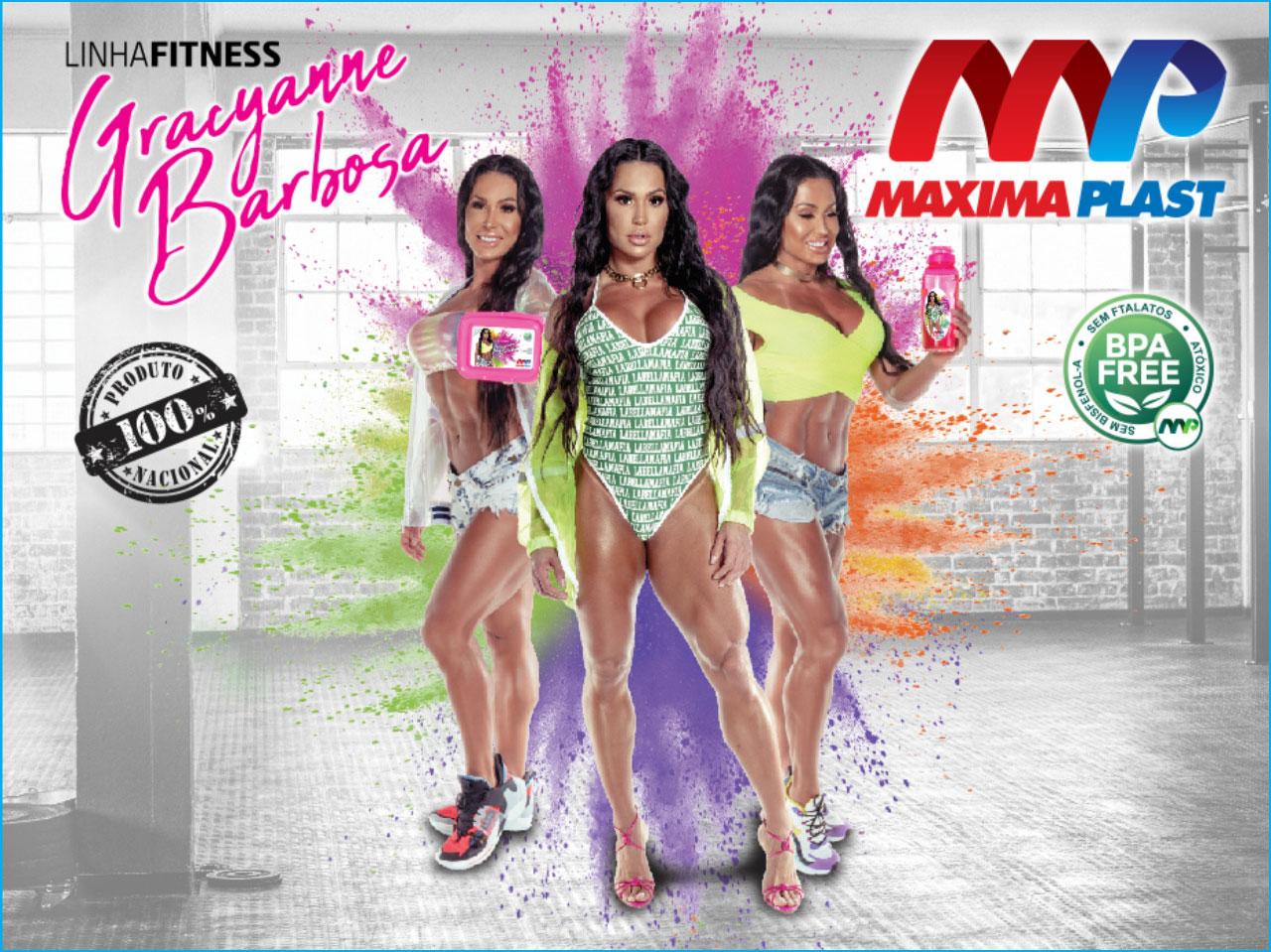 Gracyanne Barbosa - Maxima Plast
